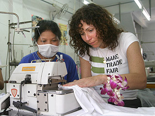 Minnie Driver Travels to Southeast Asia to Help Fight Poverty