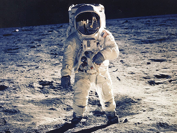 Neil Armstrong, Buzz Aldrin, Walked on Moon 45 Years Ago