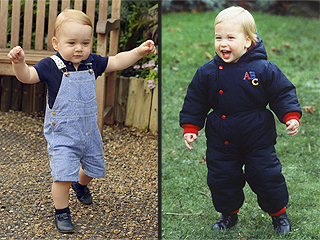 Princes Charming: See George & Will Side by Side at 1 Year Old