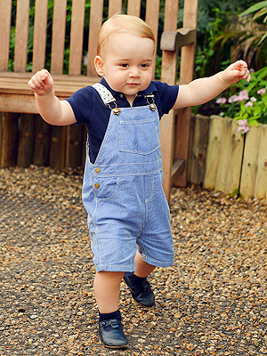 Look Who's Walking! See Prince George's New Official Portrait