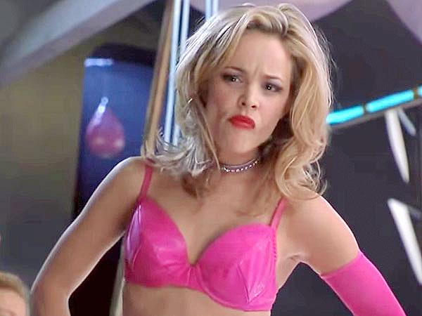 Rachel McAdams: The Hot Chick Striptease Was 'One of the Scariest Moments of My Career'| Rachel McAdams