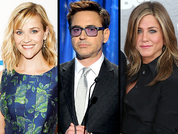 Jennifer Aniston, Robert Downey Jr. and Reese Witherspoon Headline the Toronto International Film Festival