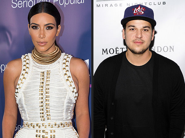 Why Kim Kardashian Has 'No Sympathy' for Brother Rob