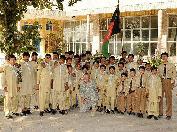 Army Major Creates Boy Scout Troops for Children in Afghanistan| Heroes Among Us, Good Deeds, Real People Stories, Real Heroes