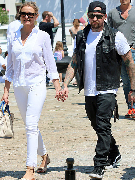Are Cameron Diaz and Benji Madden Engaged?| Couples, Engagements, Benji Madden, Cameron Diaz