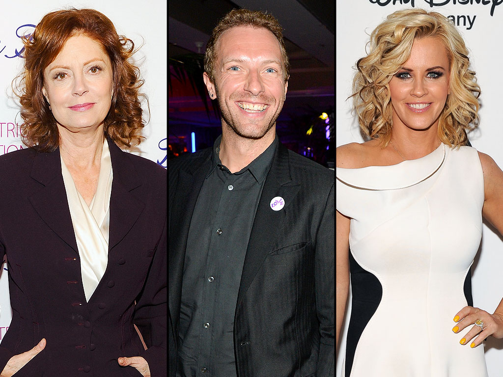 Susan Sarandon's Secret Fling, Chris Martin's Marriage Confession & More Weekend News