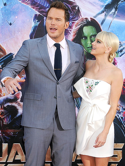 What Delicious Look Does Chris Pratt Think Is Sexiest on Anna Faris?