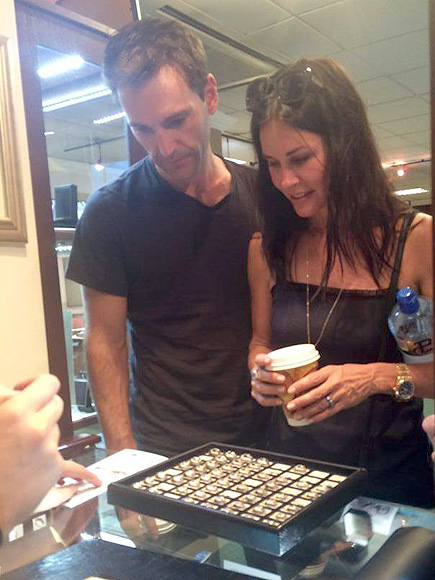 Courteney Cox & Johnny McDaid Snag Some New Rings on Ireland Trip| Snow Patrol, Couples, Engagements, Courteney Cox