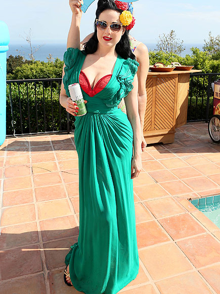 Dita Von Teese Throws Annual 'Garden & Arts' Bash