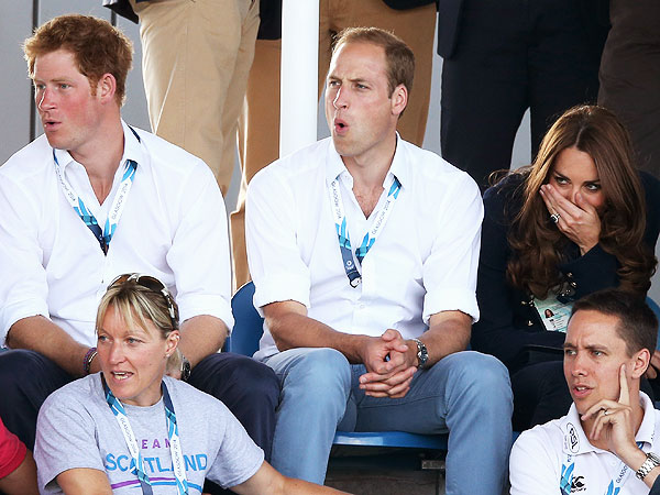 Prince William, Princess Kate and Prince Harry Attend the Commonwealth Games| The Royals, Kate Middleton, Prince Harry, Prince William