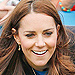 Kate Plays South African Game 'Three Tins' at Commonwealth Gam
