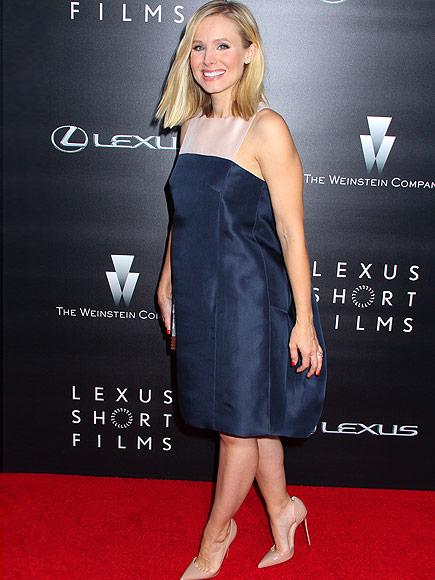 Kristen Bell pregnant Lexus Short Film Series