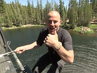 Watch Channing Tatum Flip for Bear Grylls