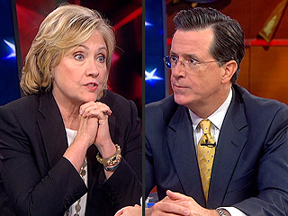 Watch Hillary Clinton Outwit Stephen Colbert