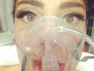 Lady Gaga Hospitalized for Altitude Sickness | Lady Gaga