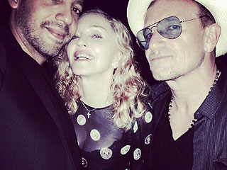 Holiday! See Madonna's Photos from France