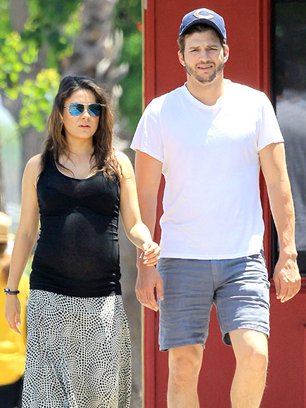 Mila Kunis and Ashton Kutcher Prep for Baby