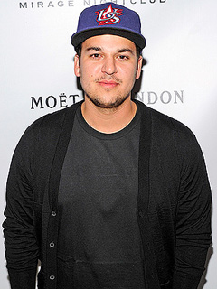 Rob Kardashian Twitter Photo North