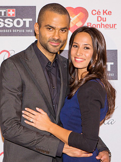 NBA Star Tony Parker Marries Axelle Francine