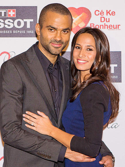 Tony Parker Marries Axelle Francine