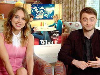 Sparks Fly Between Daniel Radcliffe & Zoe Kazan in What If Sneak Peek