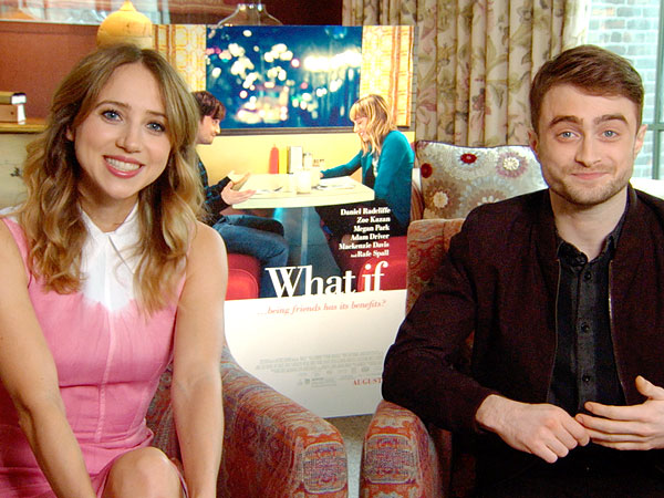 Sparks Fly Between Daniel Radcliffe & Zoe Kazan in What If Sneak Peek