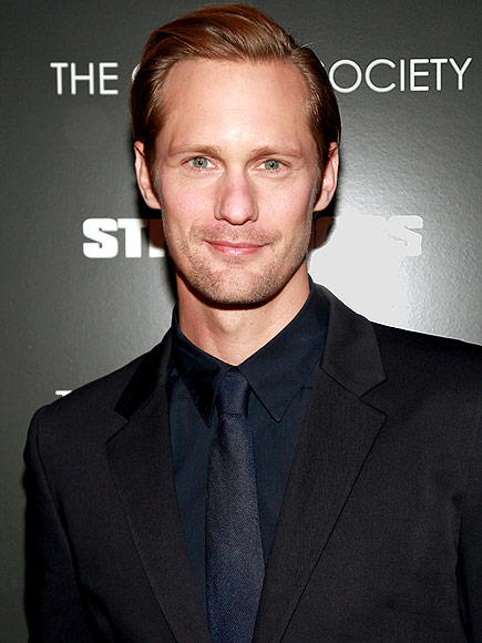 Alexander Skarsgard Joined The Giver to Work with Meryl Streep