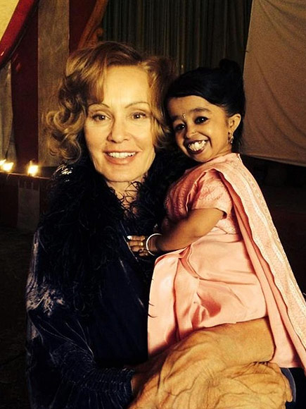 American Horror Story Casts World's Smallest Woman | Jessica Lange