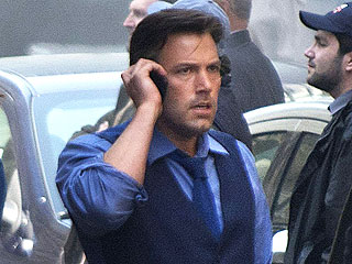 PHOTO: See Ben Affleck as Bruce Wayne on Batman v Superman Set