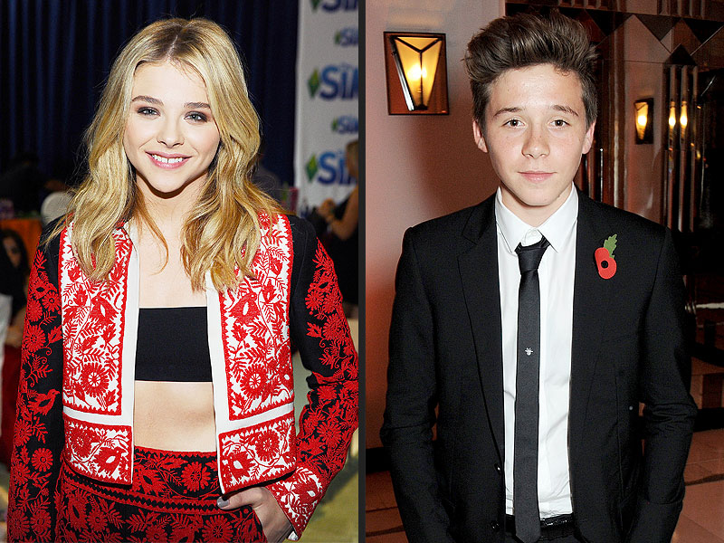PHOTO: Chloë Grace Moretz and Brooklyn Beckham Spotted at Teen Choice Awards