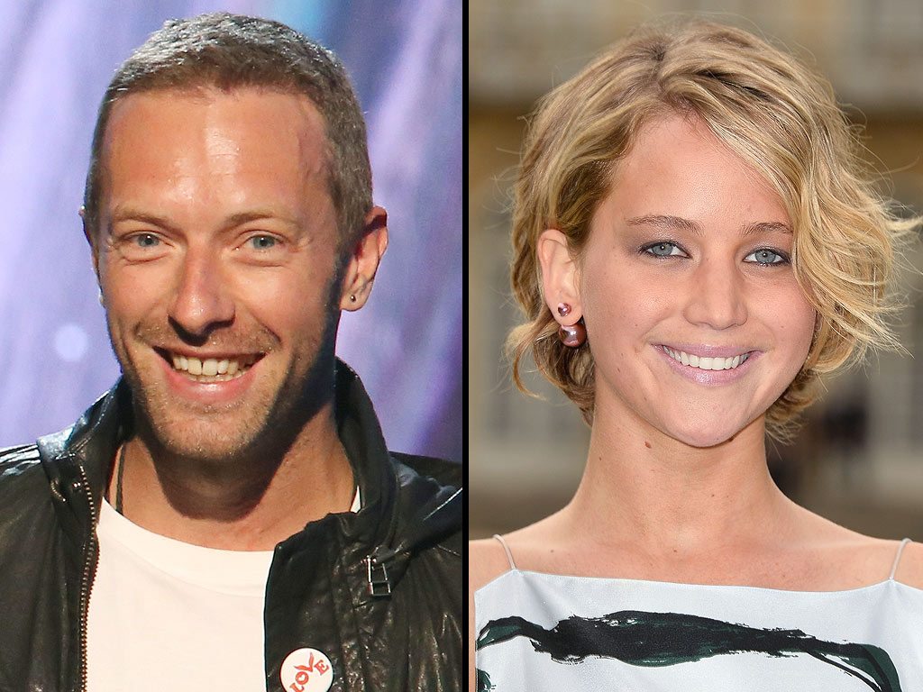 Jennifer Lawrence and Chris Martin Have Date Nights At Home