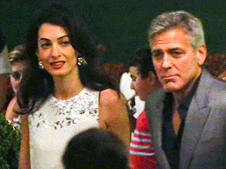PHOTOS: George and Amal Enjoy Romantic Dinner in Italy