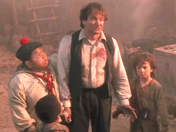 Hook Costar on Robin Williams: 'He Was Truly Peter Pan'  Death, Suicide and Attempts, Tributes, Hook, Movie News, Robin Williams