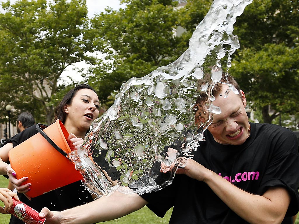 #IceBucketChallenge Raises Awareness and Money for Charities