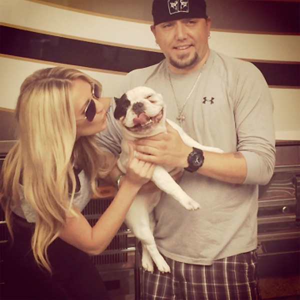 Jason Aldean Speaks Out on Life with Girlfriend Brittany Kerr