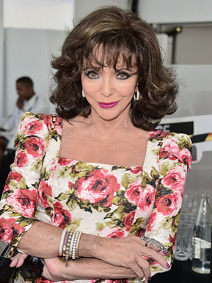 Joan Collins Is Returning to TV – as a Royal