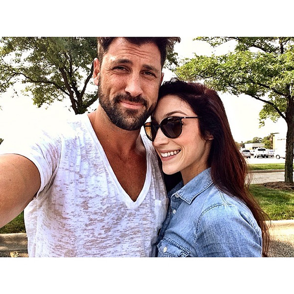 PHOTO: Dancing Champs Maks & Meryl Reunite