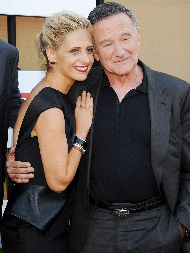 Robin Williams Family Gellar and robin williams