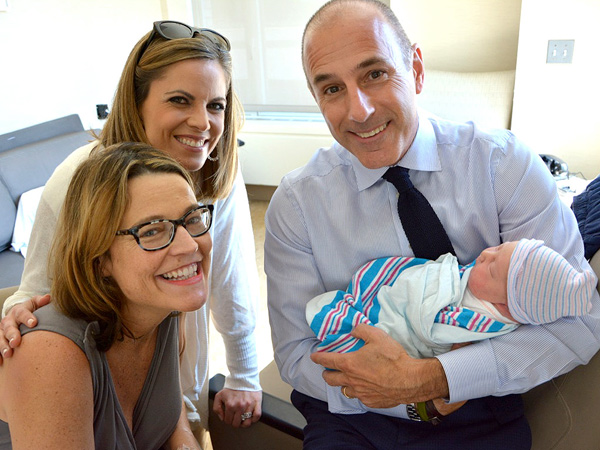 Savannah Guthrie Welcomes Daughter Vale