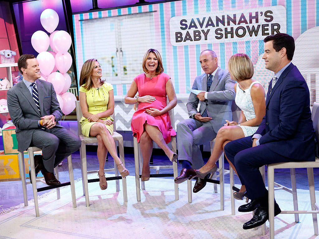 Today Throws Savannah Guthrie a Baby Shower