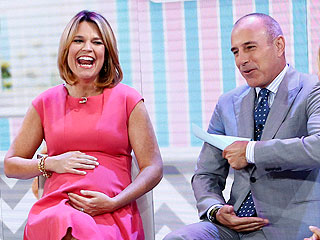 Savannah Guthrie Goes on Maternity Leave in Style
