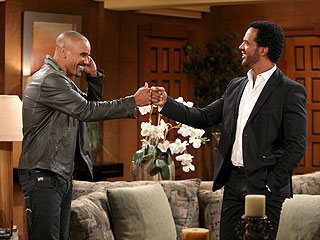 PHOTO: See Shemar Moore's Big Return to The Young and the Restless