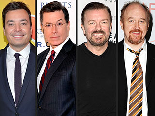 You'll Never Guess the Most-Followed Emmy Nominee on Twitter | Jimmy Fallon, Louis C.K., Ricky Gervais, Stephen Colbert