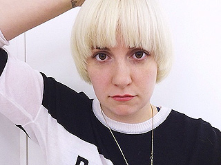 Lena Dunham Goes Platinum Blonde!