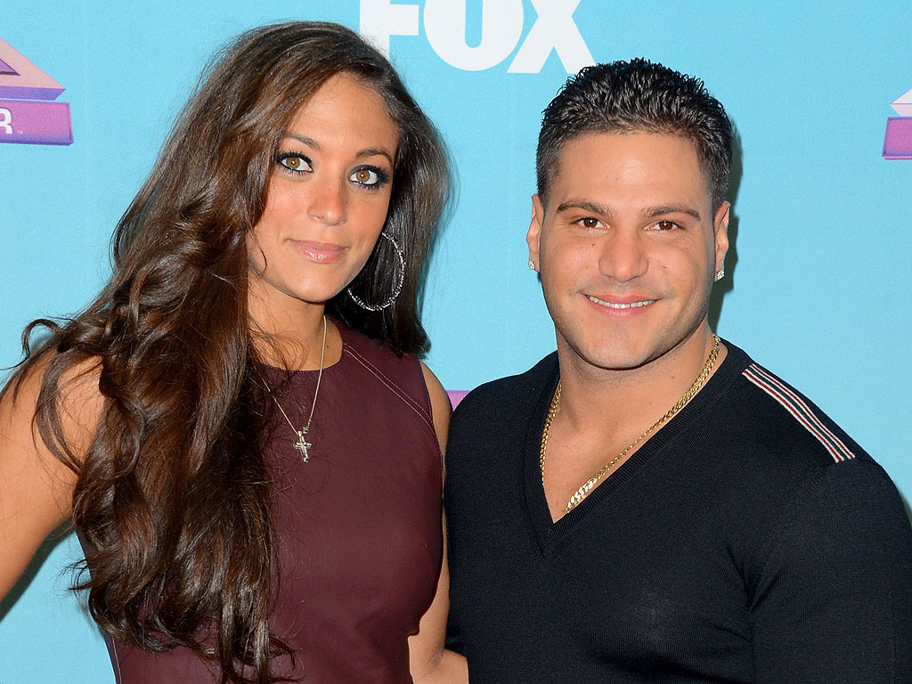 Jersey Shore's Ronnie and Sammi Split