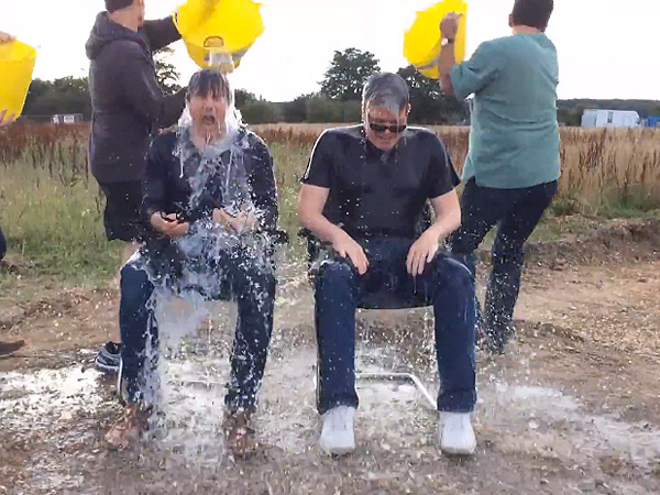 Tom Cruise Takes the Ice Bucket Challenge (VIDEO)