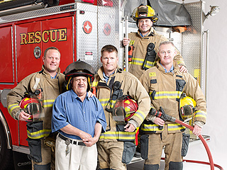 Heroes Among Us: Michigan Firefighters 'Adopt' Mentally Challenged Man