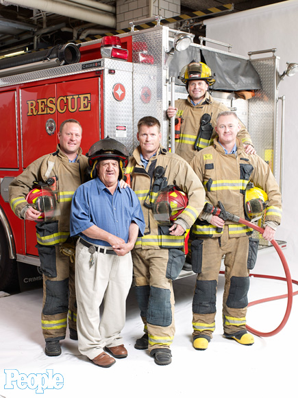 Michigan Firefighters 'Adopt' Mentally Challenged Man Tony Tumminello