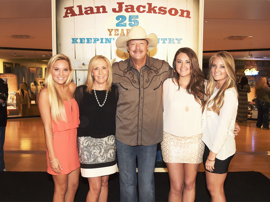 Alan jackson country music hall of fame exhibit for Cleaning out deceased parents home