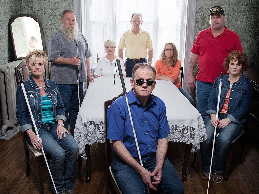 Genetic Disorder Causing Blindness Follows Iowa Family for Seven Generations